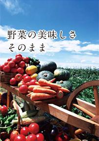 野菜の美味しさそのまま